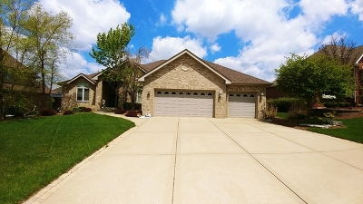 Frankfort Single Family Home New: 8631 Cullen Drive