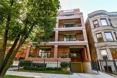 Condo/Townhouse For Sale: 841 West Grace Street #1N