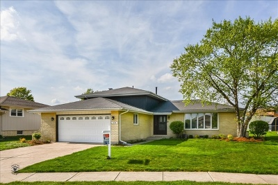 Tinley Park Single Family Home For Sale: 8832 174th Street