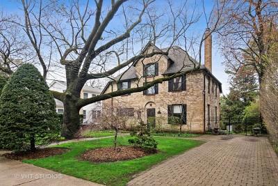 Evanston Single Family Home For Sale: 2757 Ridge Avenue