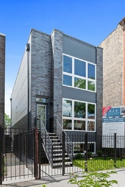 Chicago Single Family Home For Sale: 828 North Mozart Street