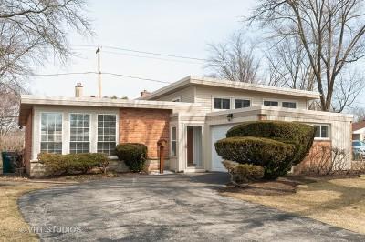 Wilmette Single Family Home New: 2916 Central Avenue