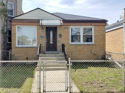 Single Family Home For Sale: 3745 West Wilson Avenue