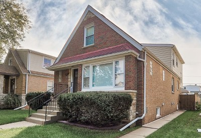 Chicago Multi Family Home For Sale: 5841 West Leland Avenue