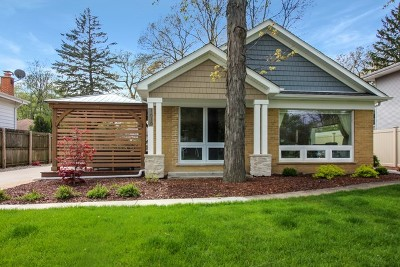 Glenview Single Family Home For Sale: 1616 Magnolia Street