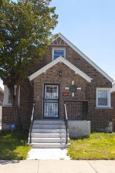 Chicago Single Family Home For Sale: 629 East 102nd Place