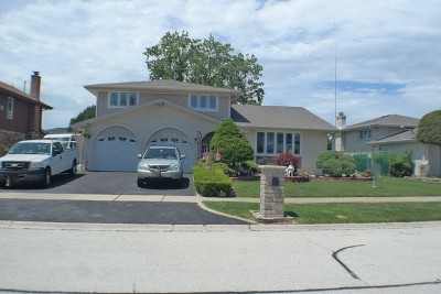 Palos Heights, Palos Hills Single Family Home For Sale: 10736 South Christa Court