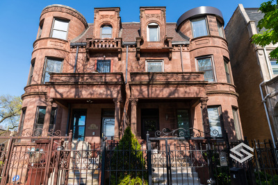 Chicago Single Family Home For Sale: 4903 South King Drive