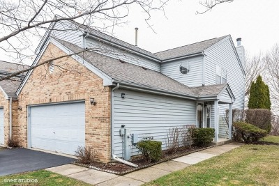Streamwood Condo/Townhouse For Sale: 18 King Drive