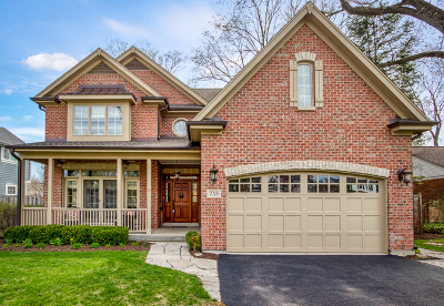 Glenview Single Family Home For Sale: 735 Wagner Road