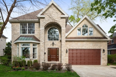 Hinsdale Single Family Home New: 607 North Elm Street