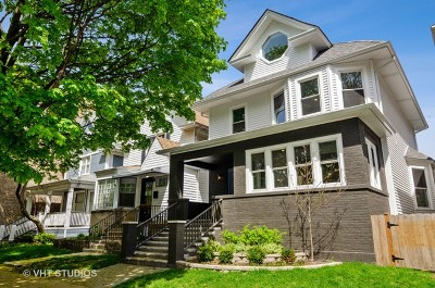 Chicago Single Family Home For Sale: 6243 North Magnolia Avenue