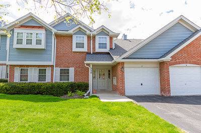 Schaumburg Condo/Townhouse For Sale: 328 Charlotte Court #8