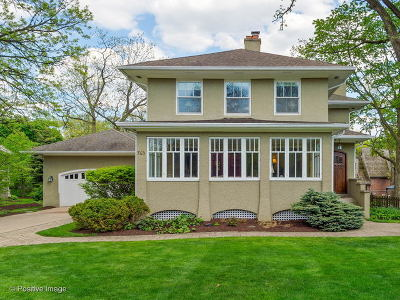 Glen Ellyn Single Family Home For Sale: 763 North Main Street