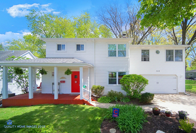 Lombard Single Family Home Price Change: 349 North Charlotte Street