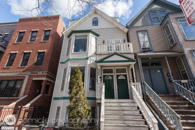 Chicago Multi Family Home For Sale: 3309 North Kenmore Avenue