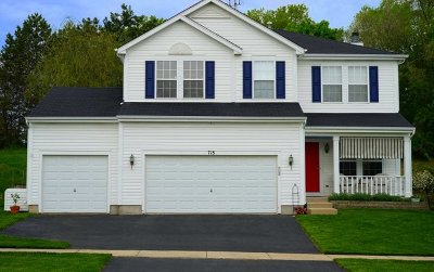 Marengo Single Family Home For Sale: 718 Ridge Drive