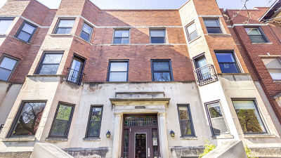 Condo/Townhouse For Sale: 1018 West Byron Street #3E