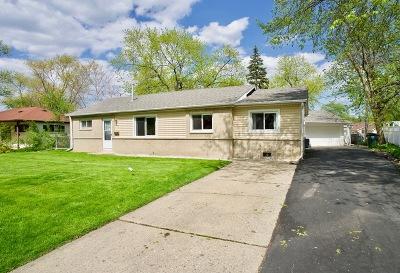 Hoffman Estates Single Family Home For Sale: 665 Ashland Street
