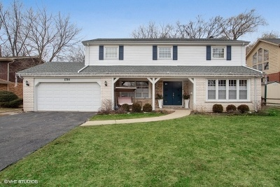 Glenview Single Family Home For Sale: 1714 Riverside Court