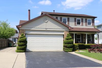 Elk Grove Village Single Family Home For Sale: 1226 Robin Drive