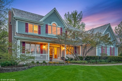 Libertyville Single Family Home For Sale: 14240 West Braemore Close