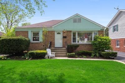 Western Springs Single Family Home For Sale: 4084 Garden Avenue