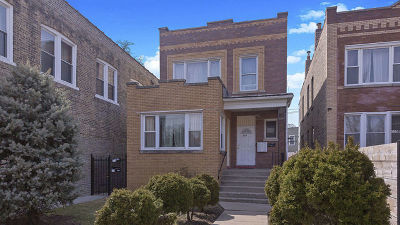 Chicago Multi Family Home For Sale: 4312 North Milwaukee Avenue