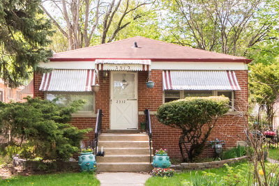 Evanston Single Family Home Contingent: 2312 Greenwood Street