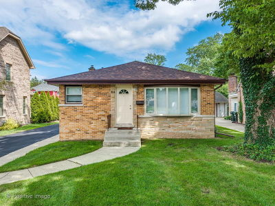 Glenview Single Family Home For Sale: 127 Elm Street