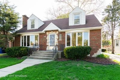 Evergreen Park Single Family Home Contingent: 9804 South Homan Avenue