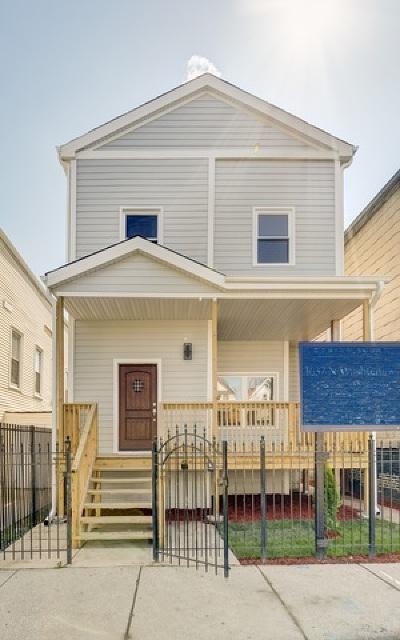Single Family Home For Sale: 1637 North Washtenaw Avenue