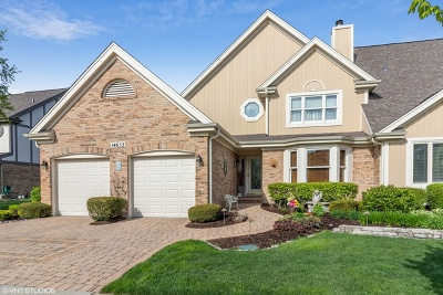 Orland Park Condo/Townhouse For Sale: 14652 Golf Road