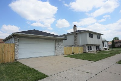 Alsip Single Family Home For Sale: 12118 South Harding Place