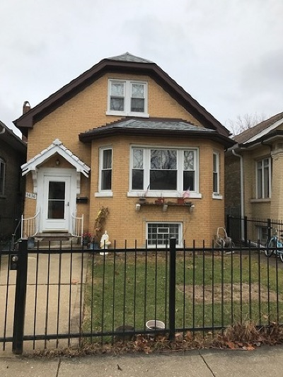 Single Family Home For Sale: 5430 North Bernard Street