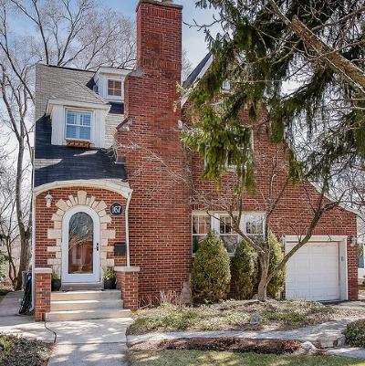 Glen Ellyn Single Family Home New: 167 Crest Road