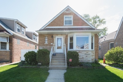 Chicago Single Family Home New: 5625 North Moody Avenue