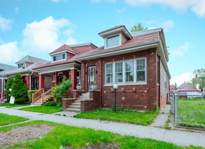 Chicago Single Family Home New: 7747 South Rhodes Avenue