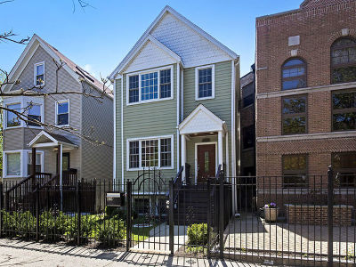 Chicago Single Family Home New: 2103 West Montrose Avenue
