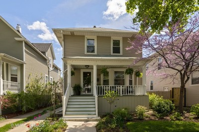 Single Family Home For Sale: 4549 North Springfield Avenue