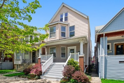 Chicago Multi Family Home Contingent: 2524 North Lawndale Avenue