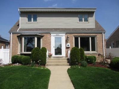 Chicago Single Family Home New: 5801 North Oriole Avenue