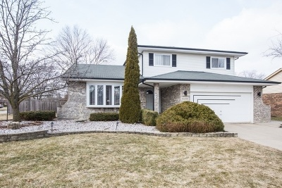 Downers Grove Single Family Home Price Change: 10s530 Thames Drive