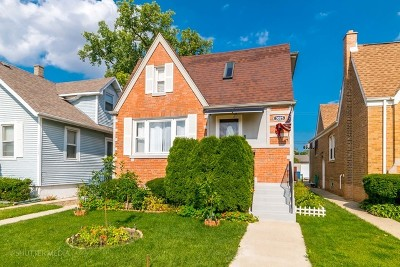 Chicago Single Family Home New: 3025 North Olcott Avenue