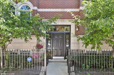 Chicago Condo/Townhouse New: 1541 North North Park Avenue #3S
