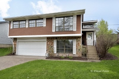 Hoffman Estates Single Family Home For Sale: 1596 Brookside Drive