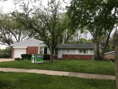 Palatine Single Family Home For Sale: 622 South Cedar Street