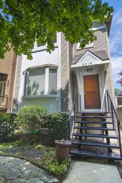 Wicker Park, Bucktown Single Family Home Price Change: 2018 West Churchill Street