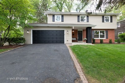 Naperville Single Family Home Price Change: 1245 Sandpiper Lane