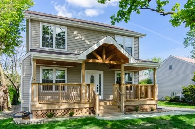Downers Grove Single Family Home For Sale: 4339 Linscott Avenue